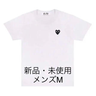 COMME des GARCONS - コムデギャルソンCOMME des GARCONSプレイハートロゴ半袖Tシャツ