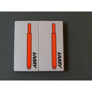 ラミー(LAMY)の新品未使用:ラミー インクカートリッジ レッド 2箱(ペン/マーカー)