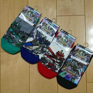 新品!タカラトミー 新幹線変形ロボ シンカリオンZ 靴下 キッズ 15~20㎝(靴下/タイツ)