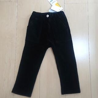 ムージョンジョン(mou jon jon)の【新品】 90 moujonjon ムージョンジョン 10分丈 パンツ 黒(パンツ/スパッツ)