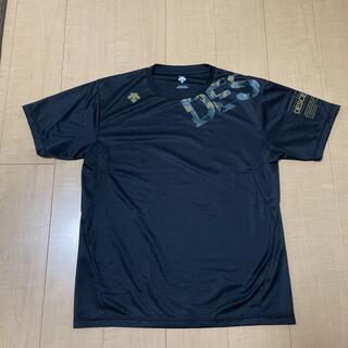 DESCENTE - 美品 未使用DESCENTE   Tシャツ/ブラック/    XLサイズ