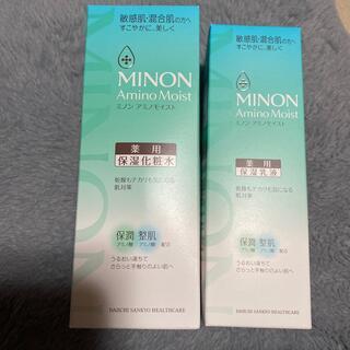 MINON - ミノン アミノモイスト アクネケア 薬用保湿化粧水 薬用保湿乳液