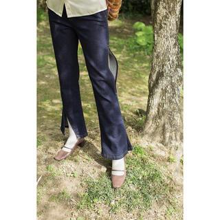 ステュディオス(STUDIOUS)のGeorgie Slit Jeans / Indigo[ leinwande ](デニム/ジーンズ)