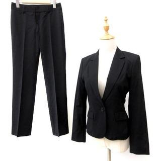 コムサデモード(COMME CA DU MODE)のコムサデモード スーツ フォーマル セットアップ シングル パンツ 黒 7 (スーツ)