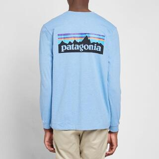 パタゴニア(patagonia)のPatagonia ロンT Long Sleeve P-6 ライトブルー M(Tシャツ/カットソー(七分/長袖))