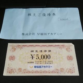早稲田アカデミーグループ株主優待券(その他)