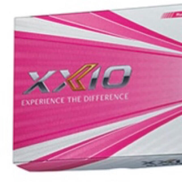 DUNLOP(ダンロップ)の新品!ダンロップ XXIO ゼクシオ イレブン ボール ルビーレッド2ダース スポーツ/アウトドアのゴルフ(その他)の商品写真