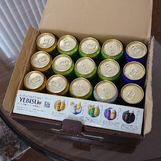 エビス(EVISU)のエビス5種セット 20缶(ビール)