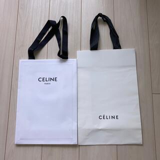 セリーヌ(celine)のセリーヌ CELINEショッパー2枚セット 伊勢丹で靴購入 (ショップ袋)