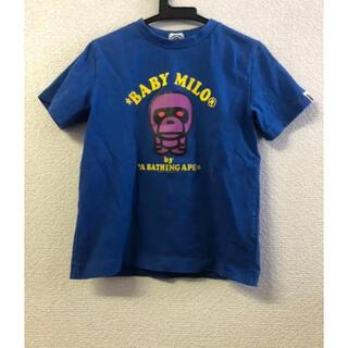 アベイシングエイプ(A BATHING APE)のアベイシングエイプキッズTシャツ120 a bathing ape(Tシャツ/カットソー)