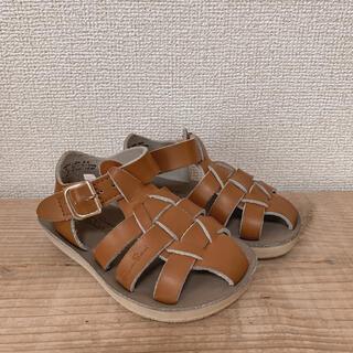 コドモビームス(こども ビームス)のソルトウォーターサンダル salt water sandals ベビー 6(サンダル)