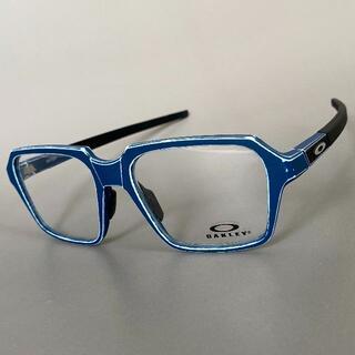オークリー(Oakley)のマイター サテン ライト ブルー オークリー スクエア メガネ ビンテージ 青(サングラス/メガネ)