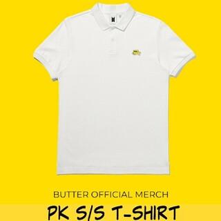 ボウダンショウネンダン(防弾少年団(BTS))のButter Tシャツ ポロシャツ S BTS グッズ 新品未開封(Tシャツ/カットソー(半袖/袖なし))
