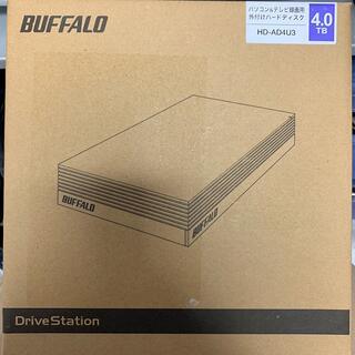 バッファロー(Buffalo)の新品!!バッファロー HD-AD4U3(PC周辺機器)