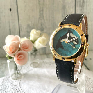 【希少】Pierre Lannier ピエールラニエ 腕時計 シャチ