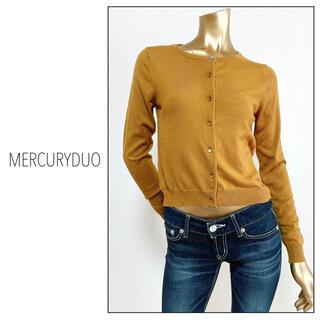 MERCURYDUO - MERCURY DUO ビジュー釦付きカーディガン*スナイデル ミーア ノエラ