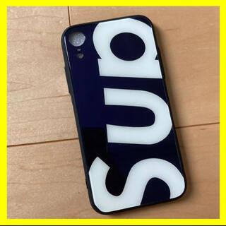 【新品】iPhoneXRケース黒ブラック保護case(iPhoneケース)