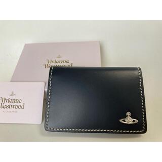 ヴィヴィアンウエストウッド(Vivienne Westwood)のネイビー パスケース 定期入れ カードケース viviennwestwood(名刺入れ/定期入れ)
