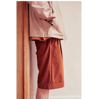 サンシー(SUNSEA)のyoke  2tuck wide shorts ヨーク ショーツ(ショートパンツ)