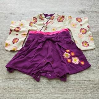 コドモビームス(こども ビームス)の袴ロンパース 60(和服/着物)