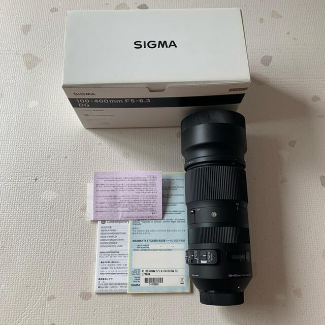 SIGMA(シグマ)のSIGMA 100-400F5-6.3 DG OS HSM/N スマホ/家電/カメラのカメラ(レンズ(ズーム))の商品写真