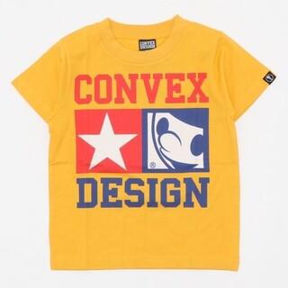 コンベックス(CONVEX)のCONVEX コンベックス スターTシャツ 140 イエロー(Tシャツ/カットソー)