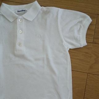 ファミリア(familiar)のファミリア定番半袖ポロシャツ白お受験面接入園幼稚園保育園 (Tシャツ/カットソー)