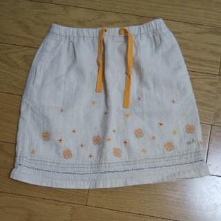 ミキハウス(mikihouse)のミキハウス120刺繍スカート(スカート)