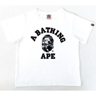 アベイシングエイプ(A BATHING APE)の【美品】★エイプ★Tシャツ★100★APE★アベイシングエイプ(Tシャツ/カットソー)