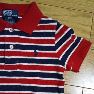 ポロラルフローレン(POLO RALPH LAUREN)のポロラルフローレン ボーダーポロシャツ100(Tシャツ/カットソー)