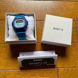 ベビージー(Baby-G)のBABY-G 3296 BLX-5600 ブルー(腕時計)