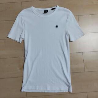 ジースター(G-STAR RAW)のG-Star RAW ジースターロウ 半袖Tシャツ S 白(Tシャツ/カットソー(半袖/袖なし))