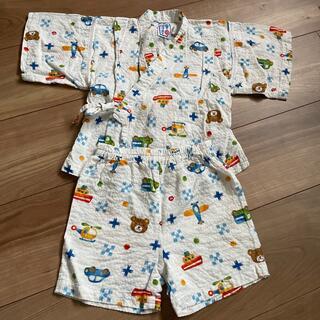ミキハウス(mikihouse)のミキハウス 甚平 90サイズ 男の子 くま(甚平/浴衣)