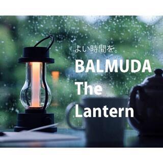 バルミューダ(BALMUDA)の新品 バルミューダ ランタン ブラック L02A-BK(その他)