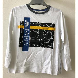 アルマーニ ジュニア(ARMANI JUNIOR)のアルマーニジュニア 長袖 Tシャツ 6A 118(Tシャツ/カットソー)