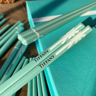 Tiffany & Co. - Tiffany 磁器の派手な箸10点セット