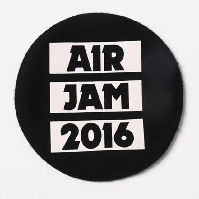 WEGO(ウィゴー)の【レア☆/定価3289円/新品タグ付】WEGO×エアジャム2016 ベレー帽 エンタメ/ホビーのタレントグッズ(ミュージシャン)の商品写真