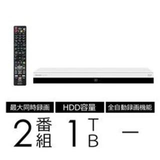 アクオス(AQUOS)のシャープ ブルーレイレコーダー 1TB ホワイト 2B-C10CW2 新品(ブルーレイレコーダー)