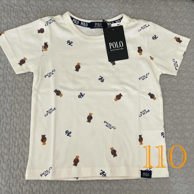 POLO 総柄 Tシャツ キッズ/ベビー/マタニティのキッズ服男の子用(90cm~)(Tシャツ/カットソー)の商品写真