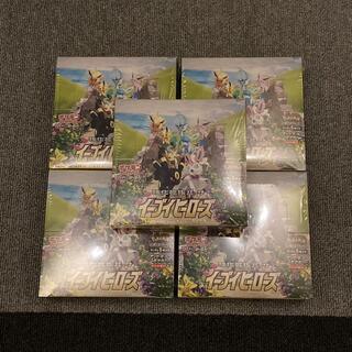 ニンテンドウ(任天堂)のイーブイヒーローズ box 新品未開封 5BOX セット シュリンク付き(Box/デッキ/パック)