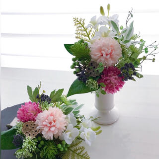 仏花 ピンク ❁.*・゜ お花のみ 花瓶別売 アーティフィシャルフラワー 造花(その他)