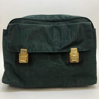 モスキーノ(MOSCHINO)のモスキーノ 3WAYショルダーバッグ リュックサック ハンドバッグ ナイロン(ショルダーバッグ)