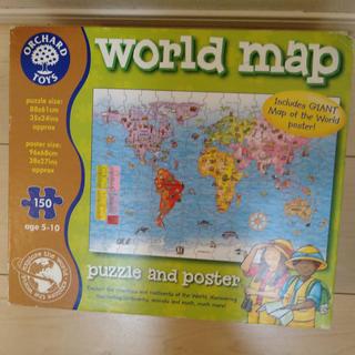 ボーネルンド(BorneLund)の【新品未使用】ORCHARDTOYS Worldmap パズル(知育玩具)