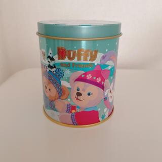 ダッフィー(ダッフィー)の香港ディズニー ダッフィー  シェリーメイ 空き缶(小物入れ)