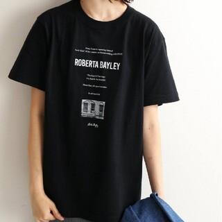 イエナスローブ(IENA SLOBE)のROBERTA BAYLEY グラフィックTシャツ(Tシャツ/カットソー(半袖/袖なし))