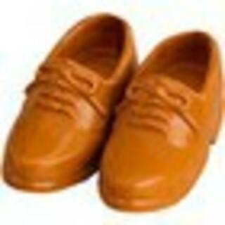 グッドスマイルカンパニー(GOOD SMILE COMPANY)のねんどろいどどーる 革靴 ローファー ライトブラウン 茶 足 脚 新品 グッスマ(アニメ/ゲーム)