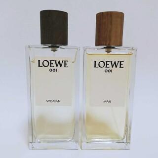LOEWE - オードパルファン ロエベ001ウーマン ロエベ001マン 100ml 2点 香水