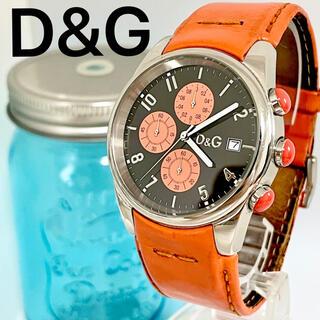 ドルチェアンドガッバーナ(DOLCE&GABBANA)の159 ドルガバ ドルチェアンドガッパーナ時計 メンズ腕時計 クロノグラフ(腕時計(アナログ))
