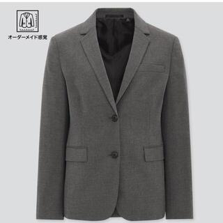 ユニクロ(UNIQLO)のUNIQLO_ストレッチテラードジャケット美品(テーラードジャケット)