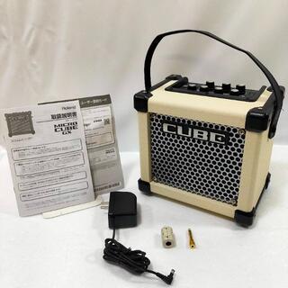 ローランド(Roland)のRoland ギターアンプ 3W MICRO CUBE GXW ホワイト(ギターアンプ)